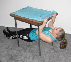 table row exercise